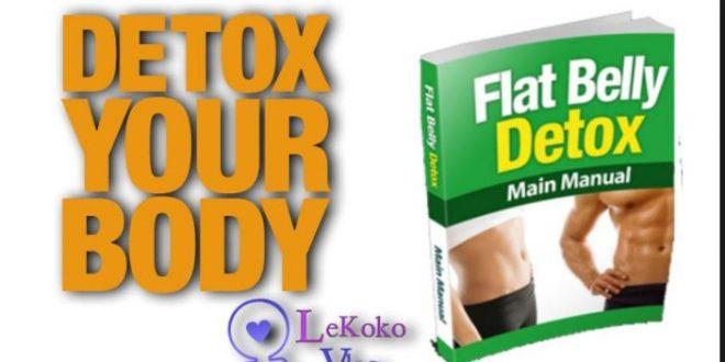 flat belly detox guide