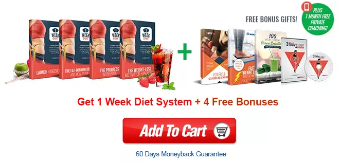 1 week diet system review