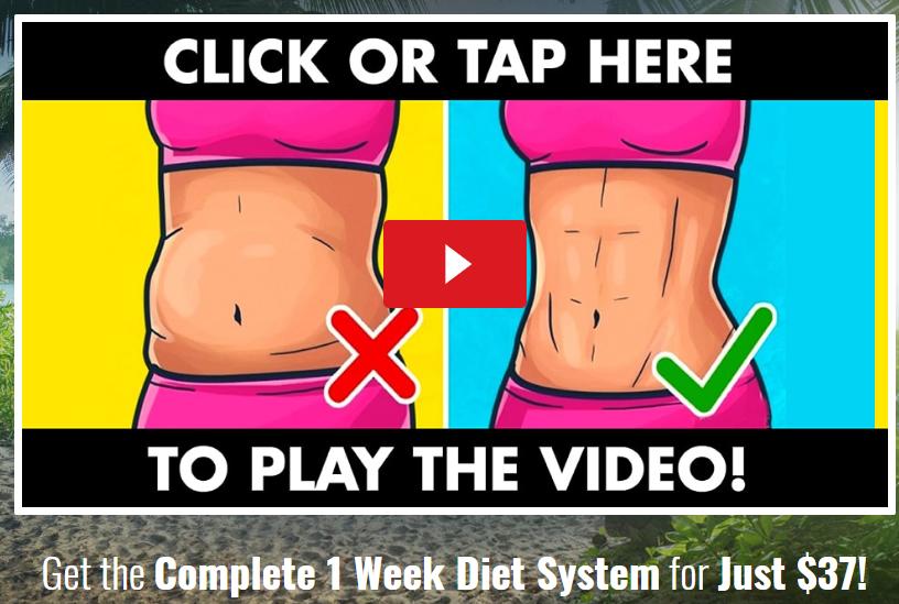 1 week diet review